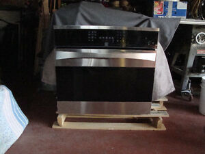 Kenmore Blk. Convection Wall Ovens, ONE BLK & ONE STAINLESS