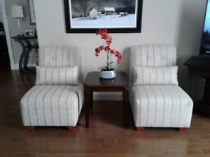 Two Lovely Slipper Chairs-sold together or separate