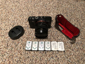 SONY RX1 with 6 batteries