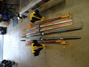 Cross Country Skis , Boots and poles