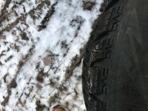 Winter tires 195/65R15 Strathcona County Edmonton Area image 4