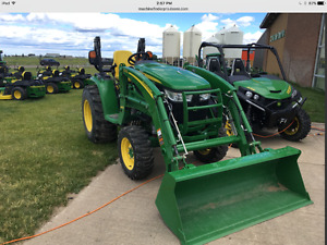 JOHN DEERE 3039R WITH LOADER-PREMIUM TRACTOR--ONLY 76 HOURS