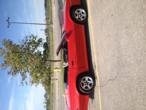 1989  Camaro Iroc Convertible and extra parts car