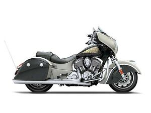 2016 Indian Chieftain Star Silver and Thunder Black