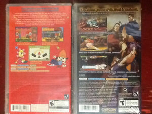 Parappa The Rapper & Darkstalkers Chronicles - PSP Cambridge Kitchener Area image 2