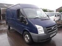 FORD TRANSIT 350 115 T350 RWD, Blue, Manual, Diesel, 2009
