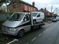 24 hour recovery and vehicle transport service.