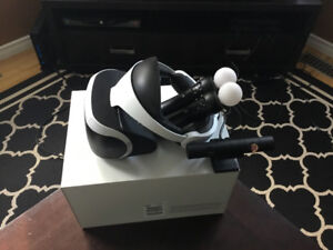Sony PSVR console for PS4