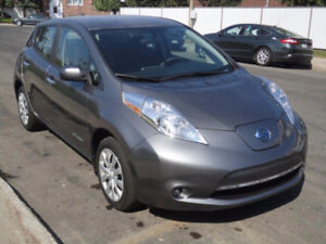 2016 Nissan Leaf S     Quick Charge Port