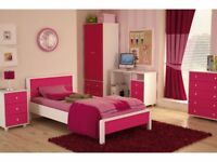 Bedroom furniture, Wardrobe, Desk, Bedstead, bedside, drawer chest