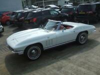 Chevrolet Corvette Auto Petrol CONVERTIBLE White 1965 54000 PETROL MANUAL 1965/C