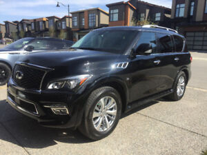 2015 INFINITI QX80 Tech Package 8 Seater with 100k KMS