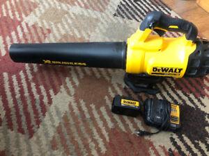 Dewalt XR 20v cordless brushless blower