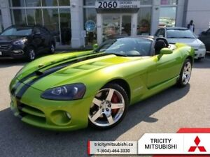 2008 Dodge Viper SRT10  CONVERTIBLE-LEATHER-600 HP-MINT
