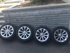 OEM BMW rims and summer tires