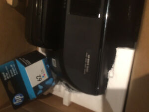 HP wireless printer with free colour ink cartridge