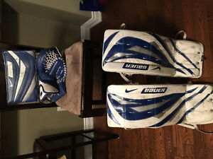 Bauer Supreme junior goalie set