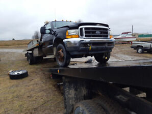 2002 f550 tow truck