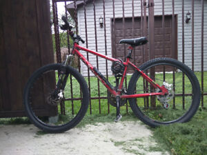 Vélo de montagne avec roues grandeur 26 pouces