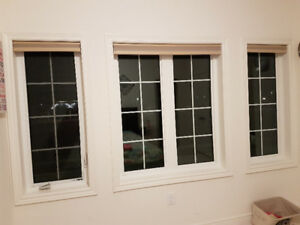 Allen + Roth 1.5-in Cordless Blackout Cellular Shades (like new)