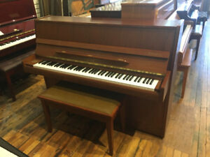 Samick Upright Piano Walnut!  Free Delivery!