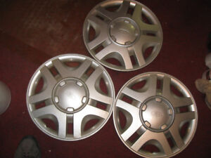 "3 x 99-00 FORD WINDSTAR HUBCAP 15"" USED OEM FACTORY HUB CAP"