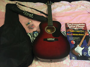 Youth guitar with accessories