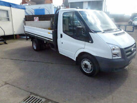 Ford Transit 2.4TDCi ( 100PS ) 2009 350 MWB dropside pickup with taillift