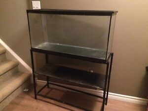30 Gallon Tank and Metal Stand