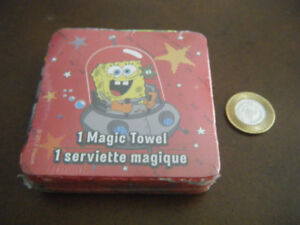 Brand New, Sealed Spongebob Squarepants Magic Towel