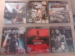 6 PS3 Games for $25