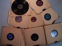 20 disques 78 tours pour colectioneur
