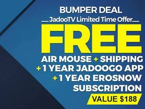 jadoo 4 with free Air Mouse @ $234.99/- only (One Time Payment) Melbourne CBD Melbourne City Preview