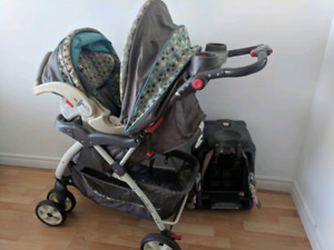Baby Trend Travel System with car seat and base