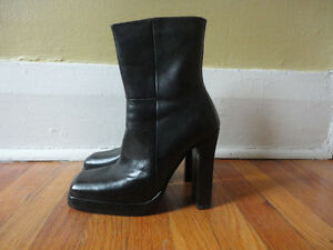 Aldo Leather Boots Size 7