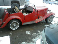 1952 MG TD KIT CAR ON MGB CHASIS
