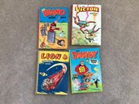Assorted comic annuals