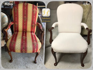 Chair & Sofa Reupholstery Services