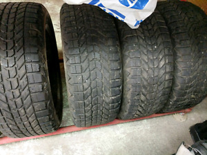 Firestone winterforce tires off mazda3