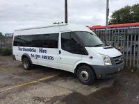 Transit 17 seat diesel minibus