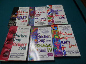 6 Chicken Soup For The.....Soul books