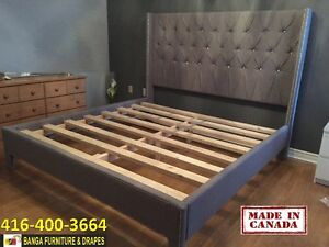 CANADIAN MADE BED FRAME & MATTRESS FACTORY OUTLET