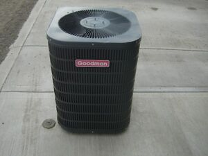 Air conditioner, works but no controls or furnace hook ups $499