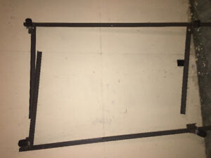 Adjustable twin bed frame