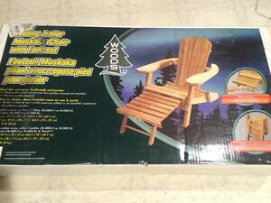 Woods Muskoka Junior Chair with Footrest. New in Box - NEW PRICE