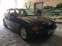 1998 BMW 3 Series 316I 3 door Hatchback