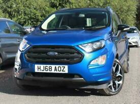 image for 2018 Ford Ecosport Ford Ecosport 1.0 E/B 140 ST-Line 5dr 18inAlloys Comfort Pack