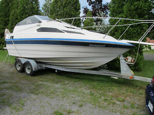bayliner 2155 1988 350 gm omc cobra