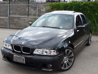 2000 BMW 528i E39 - 2 sets of wheels and tires M- premium packag