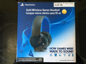 Ecouteur headset. Ps4 wirless